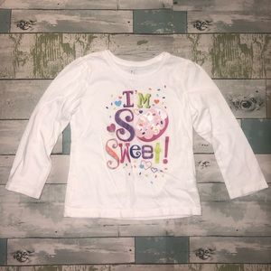 Children's Place Toddler Girls Shirt Size 4T